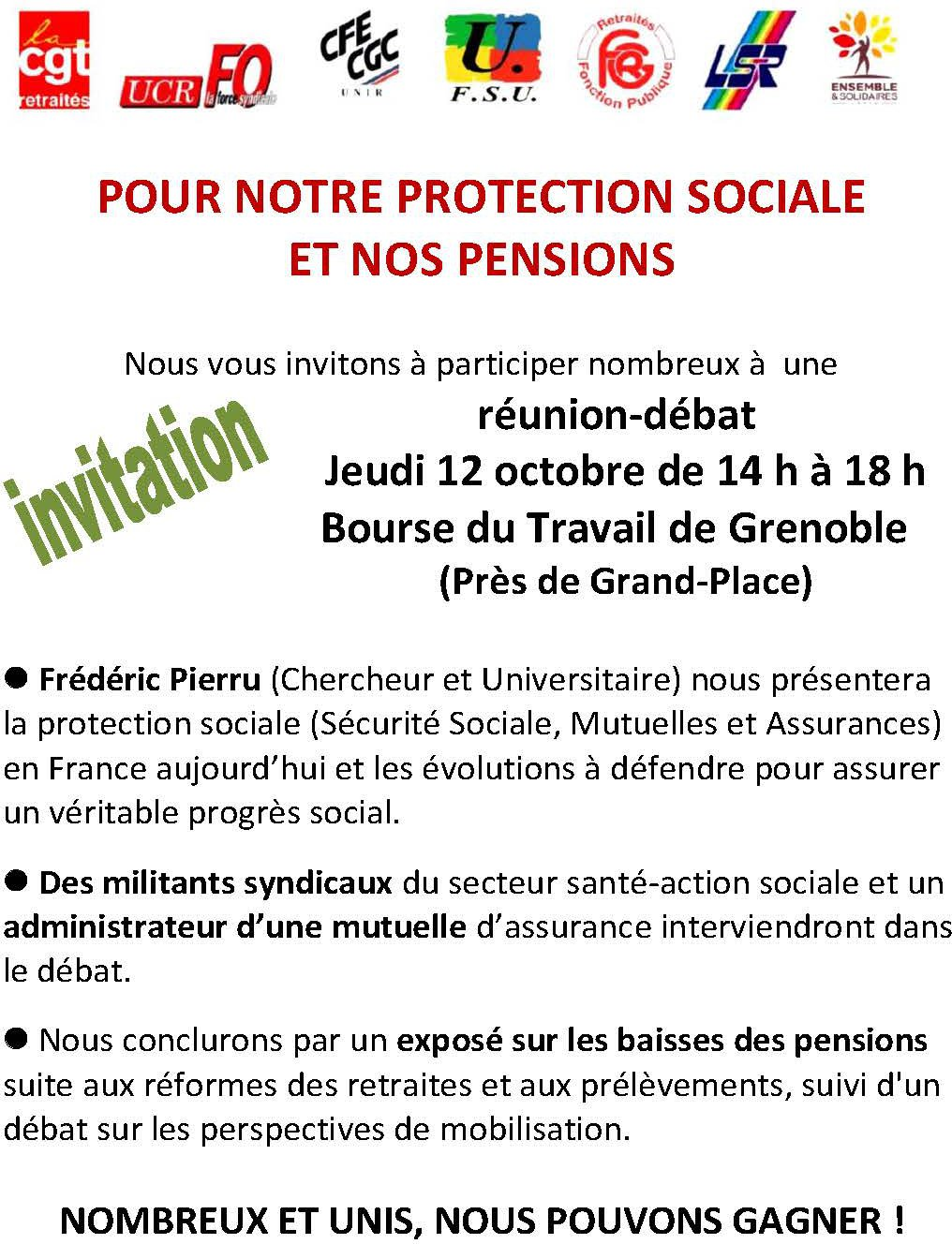 INVITATION 12 octobre-2